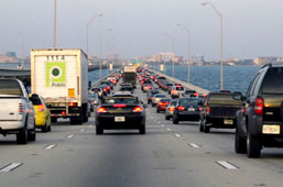 Howard Frankland Bridge Traffic